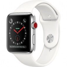 Умные часы Apple Watch Series 3 Cellular Stainless Steel 38